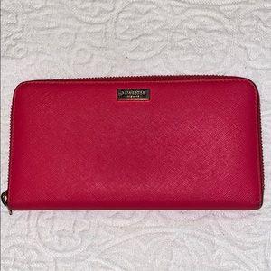 Kate Spade Pink Zip Around Wallet ♠️